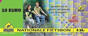 "Pay with your ""De Nationale Fietsbon"""