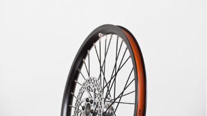 Kit roues STRIDA 16 pouces (noir) - 448-16-black-set brakediscs freewheel - frein - Roue