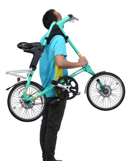 Schouder draagtasje en steun - ST-FB-003 - strida - tas