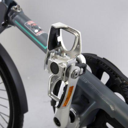 Silver aluminium STRIDA folding pedals - Bicycle pedals - Folding pedals - Pedals - ST-PDS-001