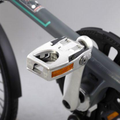 La paire de pédales pliante aluminium (argent) - des pédales - Pédales - Pédales de vélo - ST-PDS-001