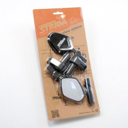 STRIDA Rear view mirror set black (left & right) - Rear mirrors - ST-RM-001 - strida
