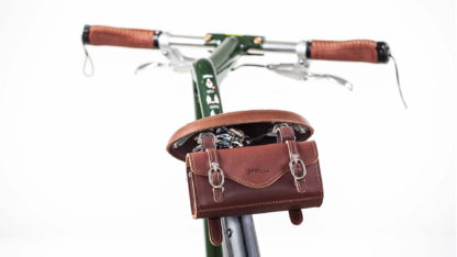 Sacoche sous selle de vélo STRIDA (cuir marron) - Sac - Sacoche de Selle - ST-SB-008 - strida