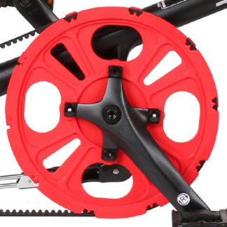 STRIDA Chainwheel 5 / LT / SX / S30X, red - 127-rd - Chainwheel - red - strida