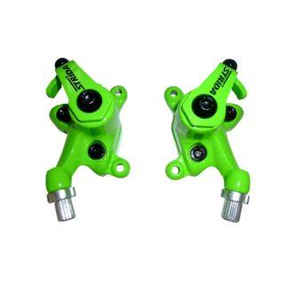 Neon groen gekleurde STRIDA remklauwen - 240 340-04-neon green - remklauw - remmen