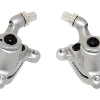 Silver colored STRIDA disc brake clamps - 240 340-04-silver - Brake clamp - Brakes