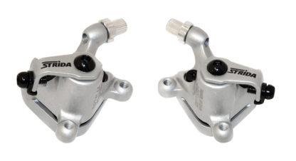Zilver gekleurde STRIDA remklauwen - 240 340-04-silver - remklauw - remmen