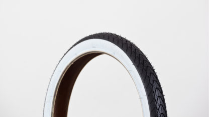 STRIDA buitenband 16 inch: 16×1.50 met witte rand - 16 inch - 16 inch - 453-7-white - buitenband - strida