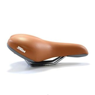 Selle comfort gel STRIDA (marron) - 501-bw - Selle - strida