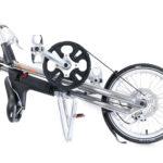 STRIDA EVO 3S Slick Silver - 3 versnellingen - design fiets - design vouwfiets - driehoekig - driehoekige - driehoekige vouwfiets - evo 3s - fiets - kopen - lichtgewicht - nieuw - opvouwbare fiets - Plooibare fiets - Plooifiets - plooifiets kopen - plooifietsen kopen - strida - strida design vouwfiets - Sturmey Archer - te koop - unieke vouwfiets - vouwfiets - vouwfiets kopen - vouwfietsen - vouwfietsen kopen - vouwfietsenwinkel - winkel