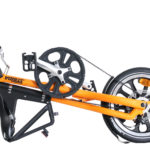 STRIDA LT Matte Orange - 16 inch - bike - Buy foldable bikes - Buy folding bicycle - Buy folding bike - Buy folding bikes - buying - collapsible bike - Design bike - Design folding bike - foldable bike - Folding bicycle - Folding bike - Folding bike shop - Folding bikes - for sale - Lightweight - lt - new - shop - Single speed - strida - Strida design folding bike - Triangular - Triangular folding bike - Triangular shaped - unique folding bike