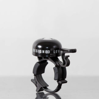 Black STRIDA bike bell - Bicycle bell - Safety