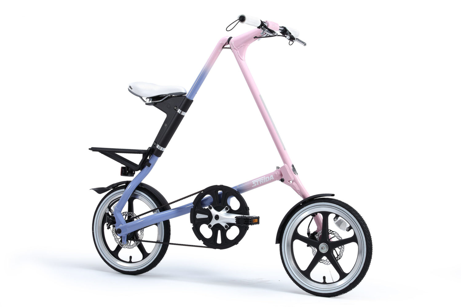 STRIDA LT Smooth Pastel - 18 inch - bike - Buy foldable bikes - Buy folding bicycle - Buy folding bike - Buy folding bikes - buying - collapsible bike - Design bike - Design folding bike - foldable bike - Folding bicycle - Folding bike - Folding bike shop - Folding bikes - for sale - Lightweight - lt - new - shop - Single speed - strida - Strida design folding bike - Triangular - Triangular folding bike - Triangular shaped - unique folding bike
