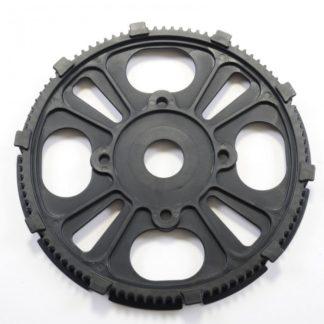 Zwart Tandwiel bij trapas voor STRIDA 5 / LT / SX / S30X - 127-bk - strida - tandwiel - zwart