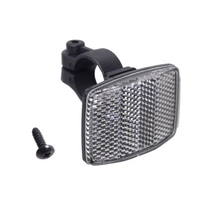 STRIDA reflector wit - 552-03 - Achterreflector - reflector - veiligheid - zichtbaarheid