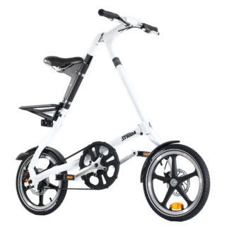STRIDA LT Classic White - 16 inch - bike - Buy foldable bikes - Buy folding bicycle - Buy folding bike - Buy folding bikes - buying - collapsible bike - Design bike - Design folding bike - foldable bike - Folding bicycle - Folding bike - Folding bike shop - Folding bikes - for sale - Lightweight - lt - new - shop - Single speed - strida - Strida design folding bike - Triangular - Triangular folding bike - Triangular shaped - unique folding bike