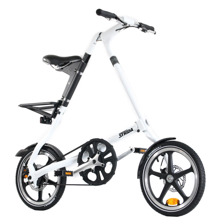 STRIDA LT Classic White (modèle d'exposition) - 16 pouces - à vendre - acheter - Acheter des vélos pliables - Acheter des vélos pliants - Acheter un vélo pliable - Acheter un vélo pliant - forme triangulaire - Léger - lt - Magasin - Magasin de vélo pliant - nouveau - strida - triangulaire - vélo - vélo compact - Vélo design - vélo pliable - vélo pliant - Vélo pliant design - vélo pliant design strida - Vélo pliant triangulaire - vélo pliant unique - Vélos pliable - Vélos pliants - Vitesse unique