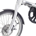 STRIDA SX Silver Brush - Silver details - 18 inch - bike - Buy foldable bikes - Buy folding bicycle - Buy folding bike - Buy folding bikes - buying - collapsible bike - Design bike - Design folding bike - foldable bike - Folding bicycle - Folding bike - Folding bike shop - Folding bikes - for sale - Lightweight - new - shop - Single speed - strida - Strida design folding bike - sx - Triangular - Triangular folding bike - Triangular shaped - unique folding bike