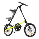 STRIDA SX Black Neon - 18 inch - bike - Buy foldable bikes - Buy folding bicycle - Buy folding bike - Buy folding bikes - buying - collapsible bike - Design bike - Design folding bike - foldable bike - Folding bicycle - Folding bike - Folding bike shop - Folding bikes - for sale - Lightweight - new - shop - Single speed - strida - Strida design folding bike - sx - Triangular - Triangular folding bike - Triangular shaped - unique folding bike