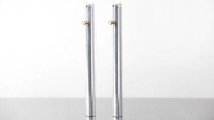 2 tube guidon couleur alu - 215-03 - Guidons