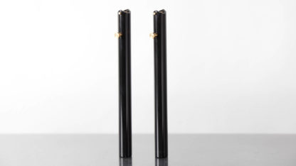 2 tube guidon couleur noir - 215-03-BK - Guidons