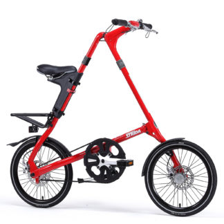 Lightweight folding bike without chain