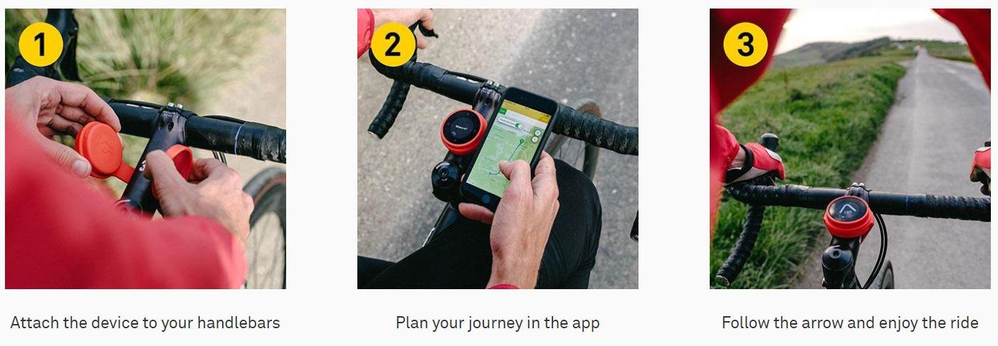 Beeline Navigation à vélo