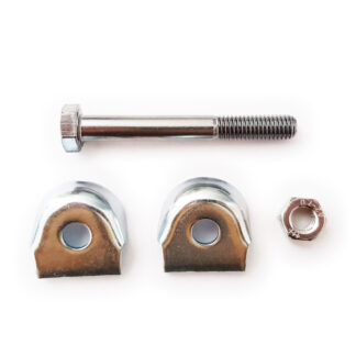 Saddle clamps with bolt and nut - 366 - 368 - 371 - Bike seat holders - Bolt - Clamp - Clamps - Nut