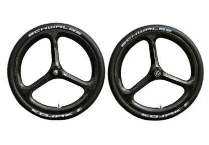 "18"" Carbon wheel set with Kojak tyres - carbon - Carbon wheels - Lightweight - ST-WS-007 - Wheel - Wheels"
